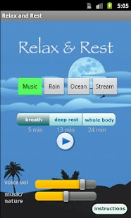 Relax and Rest Meditations- screenshot thumbnail