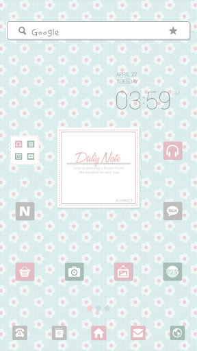 DailyNote dodol launcher theme