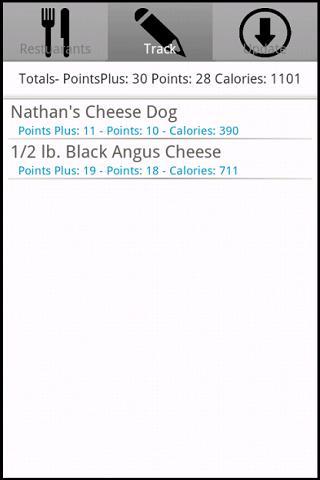 【免費健康App】Restaurant Weight Loss Tracker-APP點子