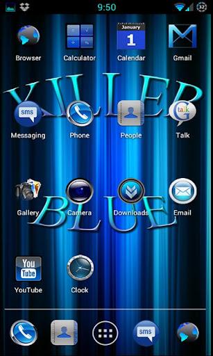CM9 CM10 Killer Blue Theme