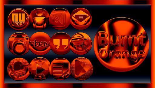 Burnt Orange Icon Pack