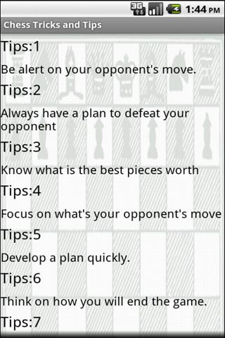 Chess Tricks and Tips Pro - screenshot