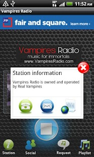 Vampires Radio - screenshot thumbnail