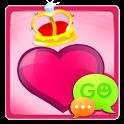 GO SMS Pro Crazy Hearts Theme icon