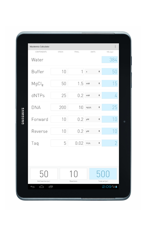 PCR Essentials - screenshot