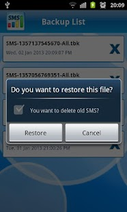 Manage SMS - screenshot thumbnail