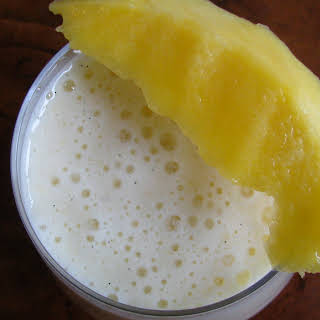Mango Vanilla Bean Smoothie.