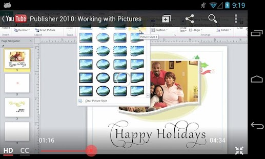 GCF Publisher 2010 Tutorial - screenshot thumbnail