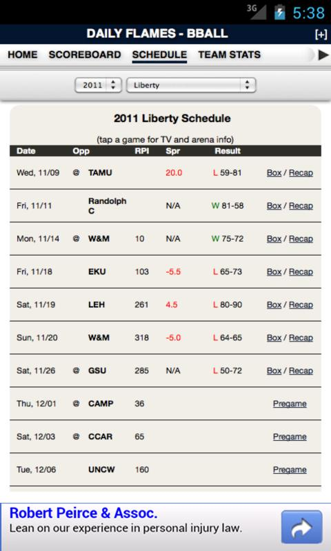 Liberty Football & Basketball - screenshot