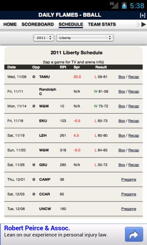 Liberty Football & Basketball - screenshot