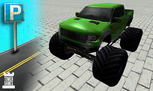 怪物卡車停車場3D