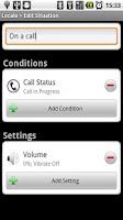 Screenshot of Locale Call Status Plug-In