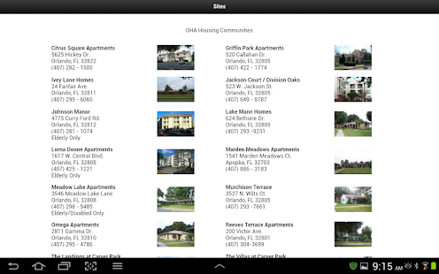 Orlando Housing Authority- screenshot thumbnail