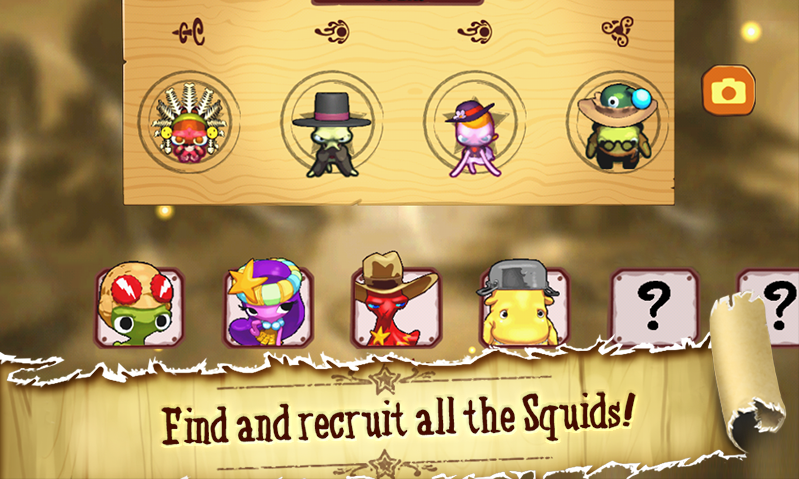 Squids Wild West - screenshot