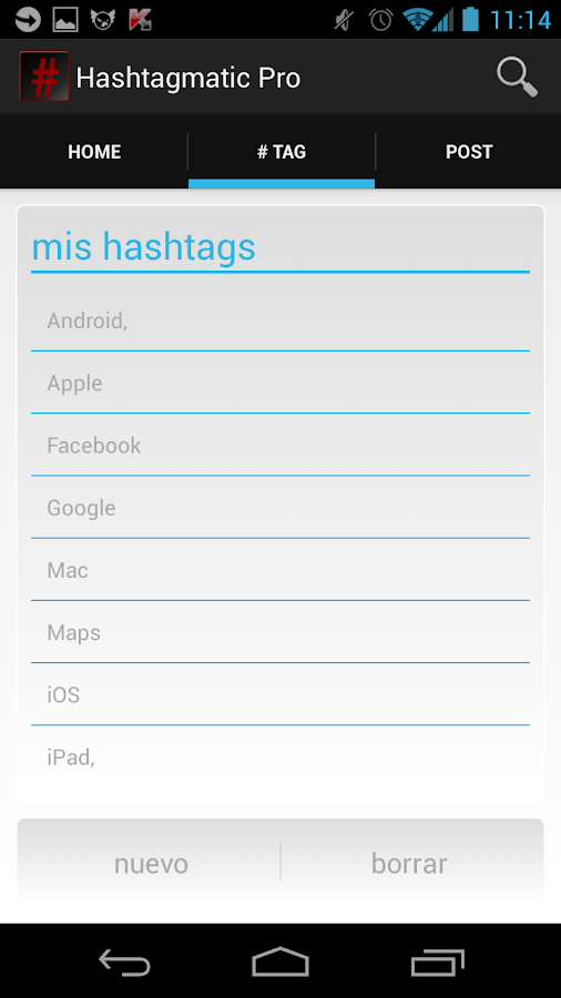 Hashtagmatic Pro - screenshot