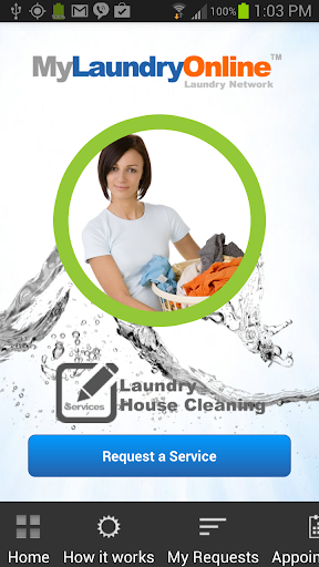 Laundry Pickup House Cleaning