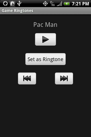 GAME RINGTONES - screenshot