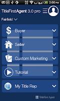 Screenshot of TitleFirstAgent 3.0