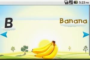 Screenshot of Kids Fruits Alphabets Musical