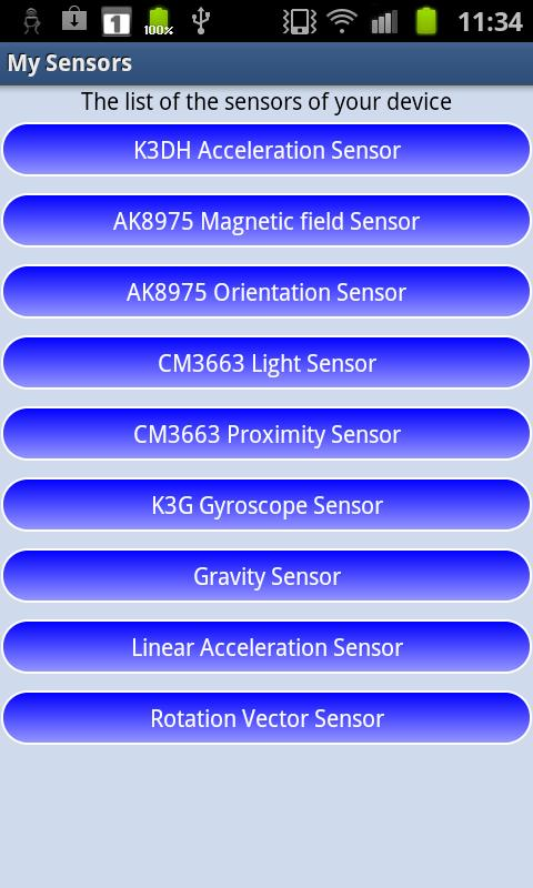 MySensors- screenshot