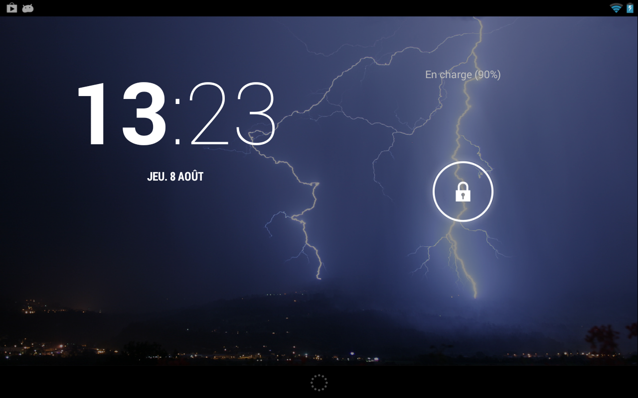 Storm (Live wallpaper) - screenshot