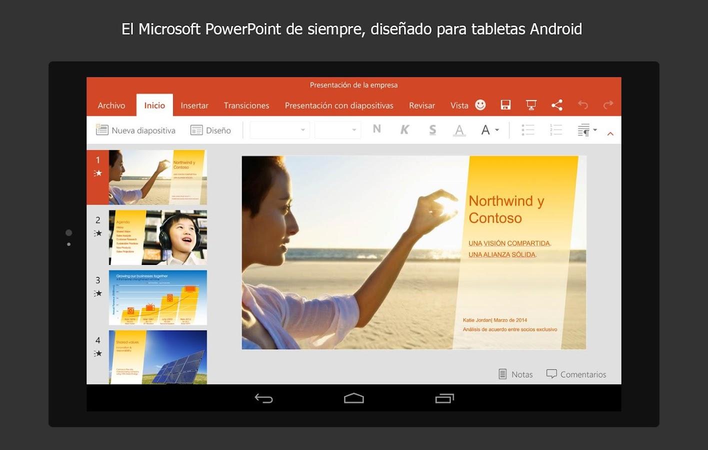 Microsoft PowerPoint - screenshot