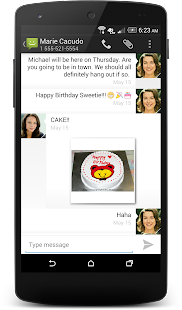 Messaging- screenshot thumbnail