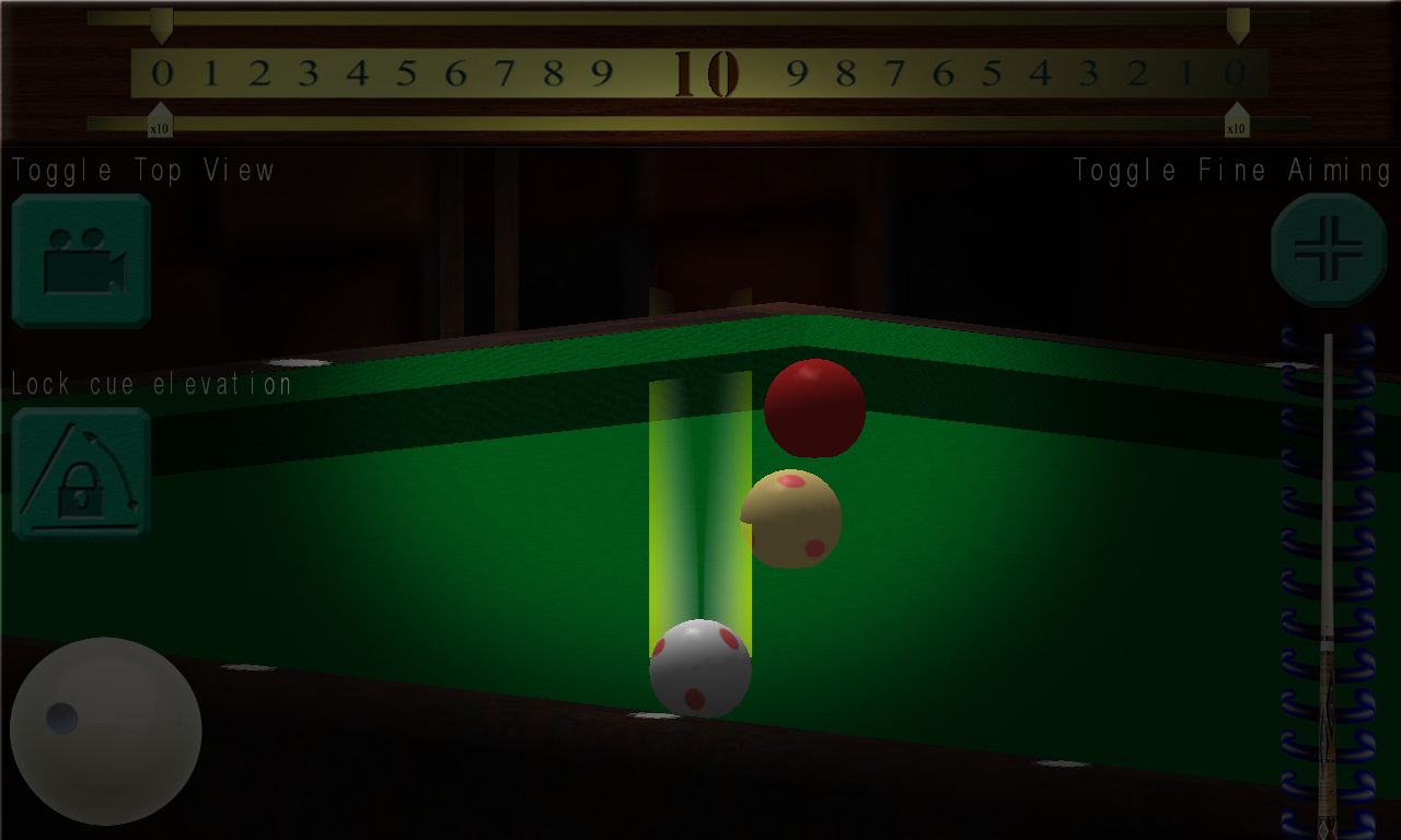 Real Carom Billiard- screenshot