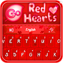 GO Keyboard Red Hearts Theme icon