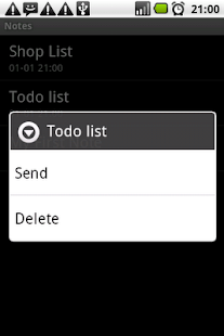 Notes NotePad ToDo List - screenshot thumbnail