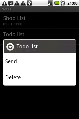 Notes NotePad ToDo List - screenshot