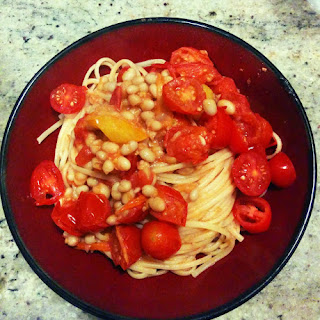 Pasta with White Beans and Tomatoes Two Ways