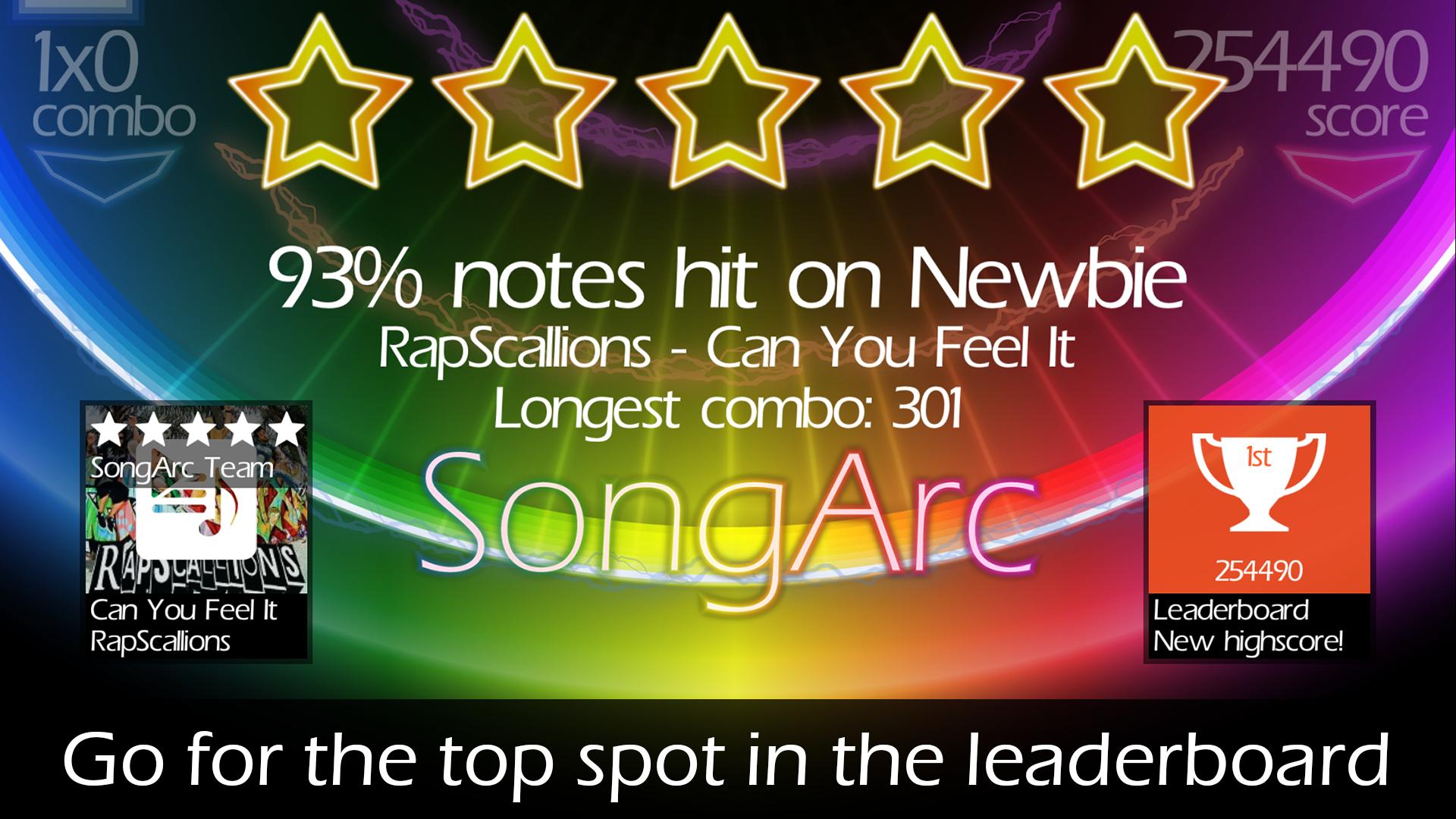 SongArc screenshot #9