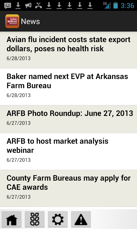 Arkansas Farm Bureau - screenshot