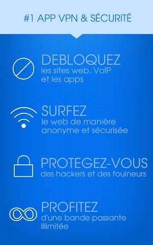 android Hotspot Shield VPN Privacy Screenshot 0