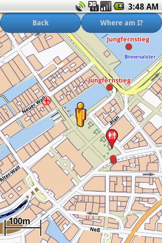 Hamburg Amenities Map