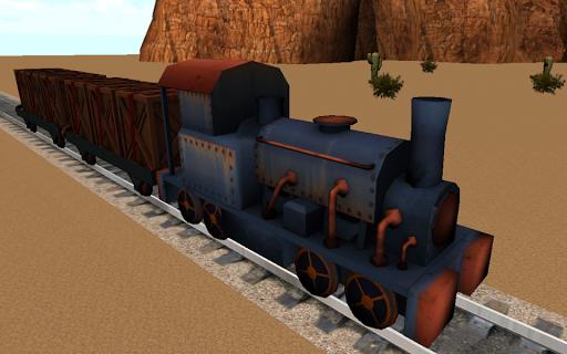 野生の西の列車