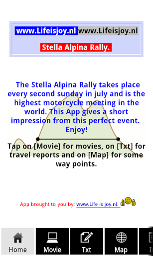 Stella Alpina motor treffen.