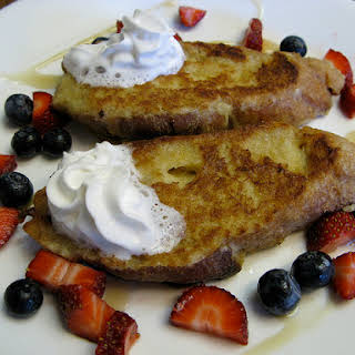 Coconut Milk French Toast.