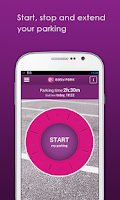 Screenshot of EasyPark