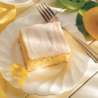 Lemon Snack Cake.