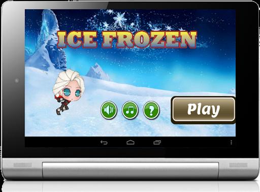Castle Princess Run Ice Elsa