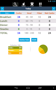 CarbsControl Carb Tracker- screenshot thumbnail