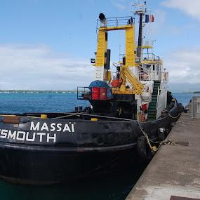 Tugboat by Joko Pix - Transportation Boats