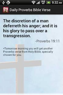 玩免費書籍APP|下載Proverbs Daily Bible Verses app不用錢|硬是要APP