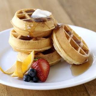 Citrus Waffles