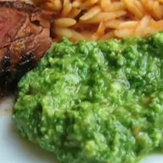 Chef John's Almond Arugula Pesto