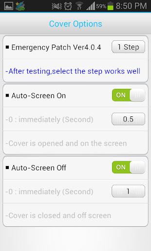 Smart Cover Pro (Screen Off)- screenshot thumbnail