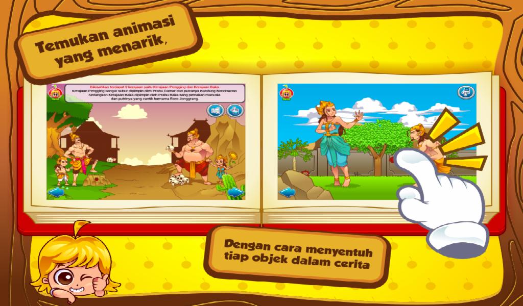 Cerita Anak: Roro Jonggrang - screenshot