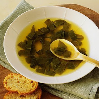 Sorrel and Garlic Soup